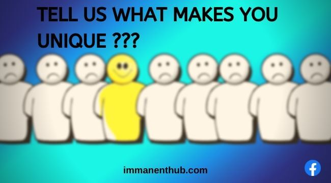 tell us what makes you unique